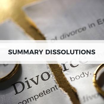 Summary Dissolutions